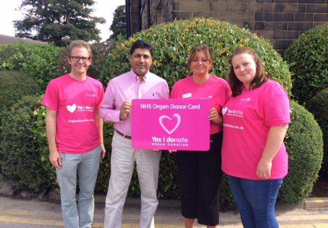Trust supports organ donation week