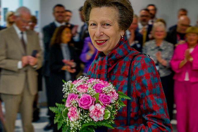 Princess Anne opens new wing