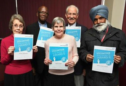 Trust honours selfless volunteers at annual awards event