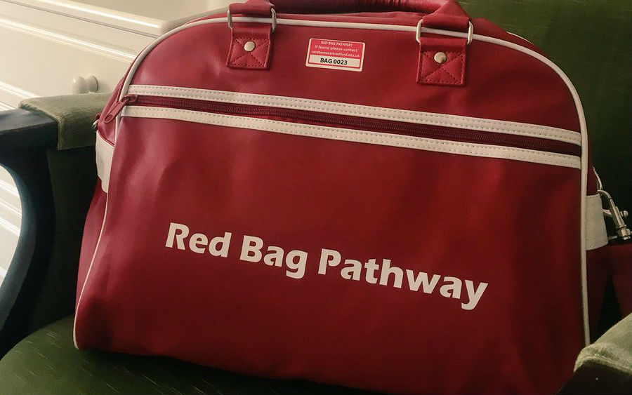 Red bag scheme will ease pathway from care home to hospital