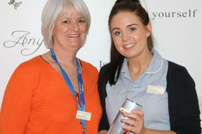 Trust maternity worker scoops national award