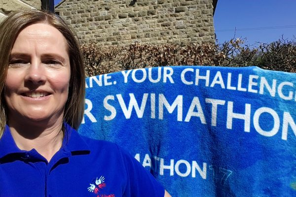Alison set to splash out for charity in swimathon