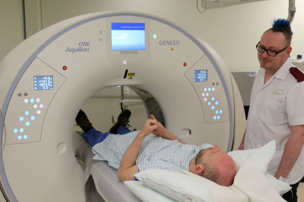 New CT scanner installed at Bradford Royal Infirmary