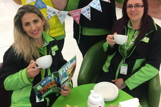 ASDA to raise 70th anniversary cuppa and funds for Bradford Hospitals