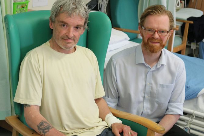 Bradford patient is first to receive pioneering stroke treatment