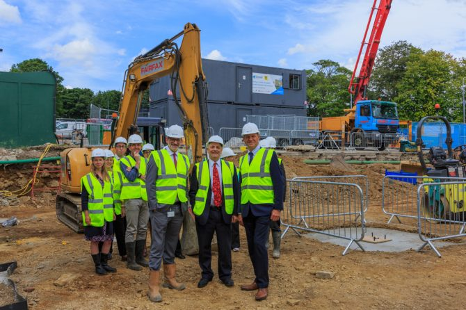 Work underway on £3m research centre for children and the elderly