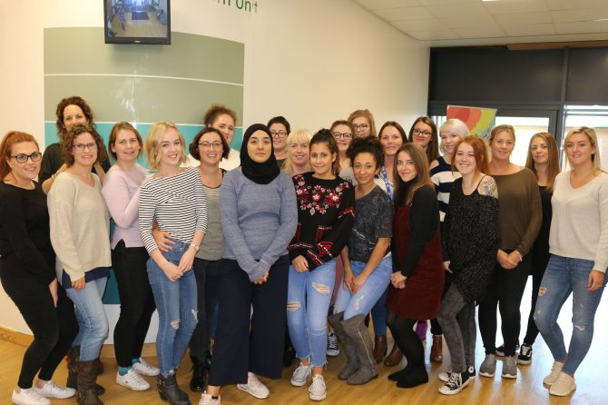 Trust delivers 22 new midwives and welcomes children's nurses