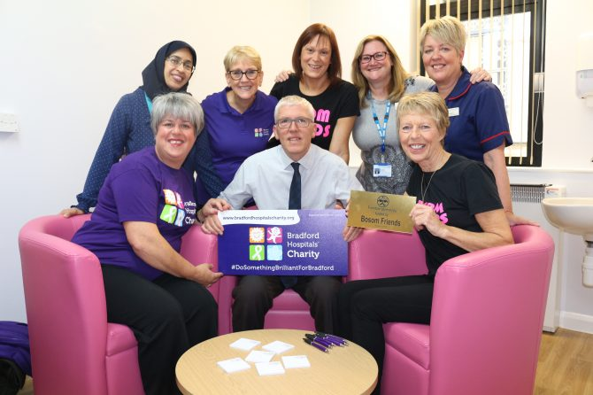 Charities join forces to support makeover for key consultation room