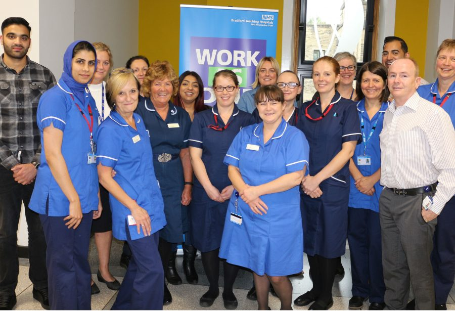Members of the district-wide Multi-Agency Integrated Discharge Team (MAIDT) work together when patients are released from hospital