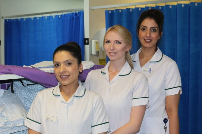 Occupational therapists help reduce pressure on hospital this winter