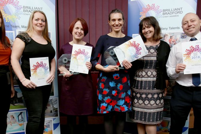 Hospital staff shine bright at Brilliant Bradford awards night