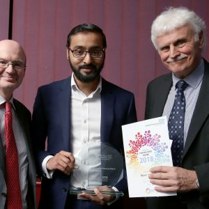 Munir Yousef - the Chairman's Unsung Hero at the 2018 Brilliant Bradford Staff Awards