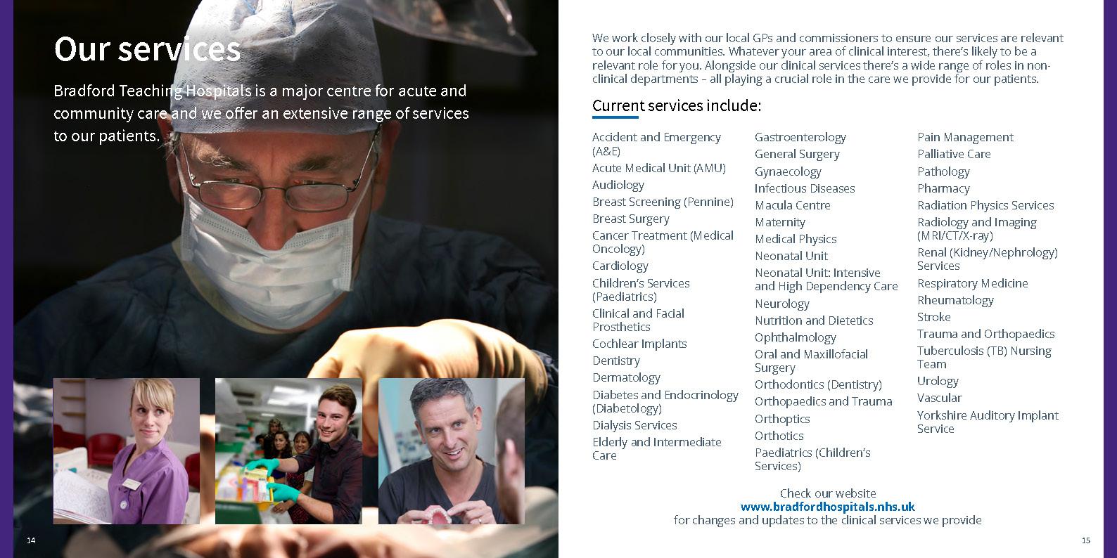 Recruitment brochures – Bradford Teaching Hospitals NHS Foundation Trust
