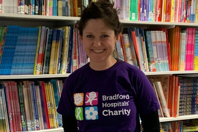 Art director Jane's marathon effort set to raise funds for small comforts