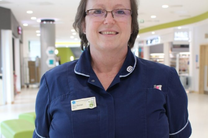 Senior matron Gez retires after more than three decades of sterling service
