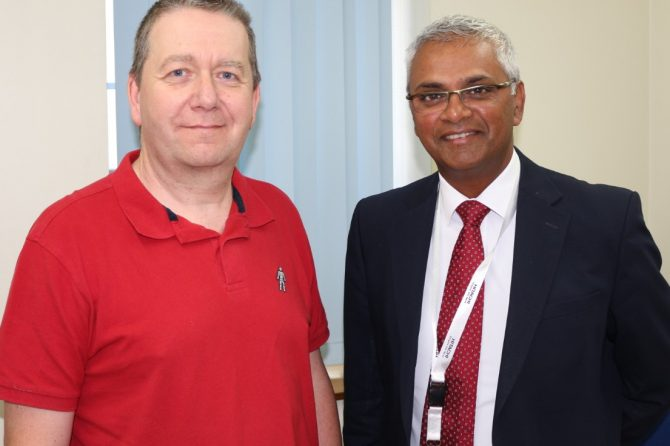 Robotic surgery team complete 1,000th operation at Bradford