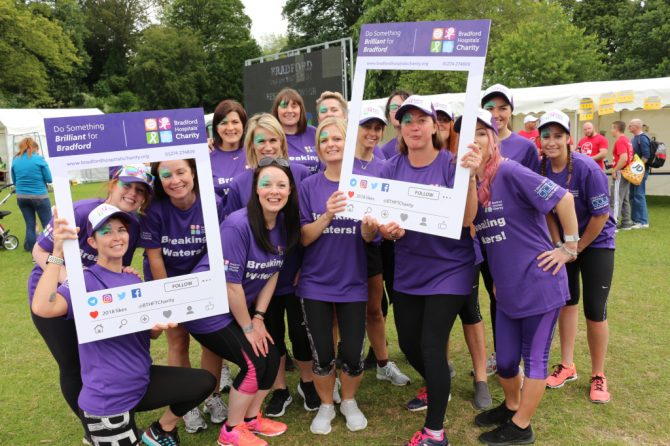 Bradford Hospitals' Charity makes a big splash at dragon boat festival
