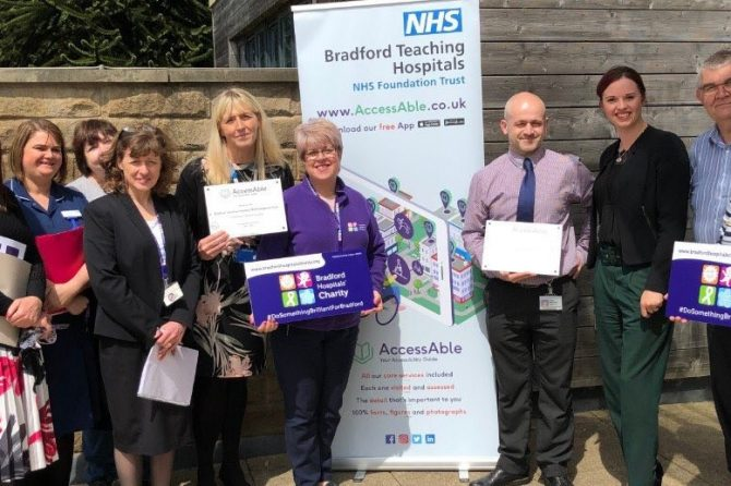 Detailed accessibility guide to Bradford Teaching Hospitals is now live