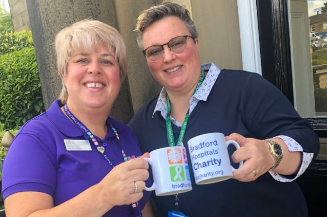 Join Bradford Teaching Hospitals' staff and raise a cuppa to the NHS!