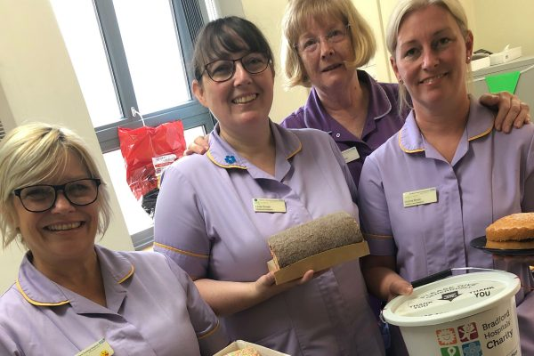 Bradford hospitals raise a cuppa to celebrate the 70th birthday of the NHS