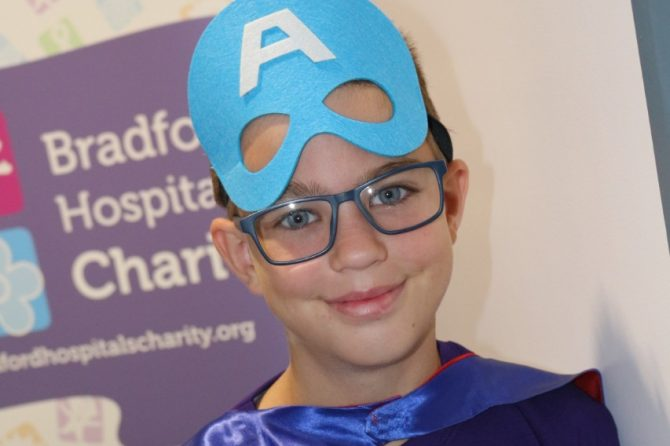 Daredevil Kian to take on BRI abseil to raise funds for young patients