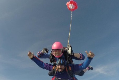 Daredevils hoping hospital funds will soar after charity skydive