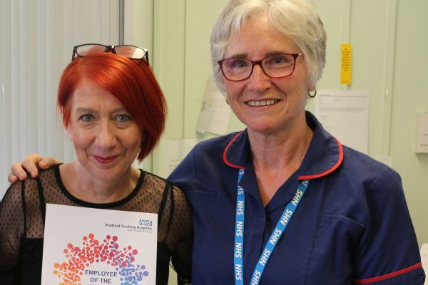 Employee of Month June 2019 Liz Sunderland from Diabetes and Endocrinology