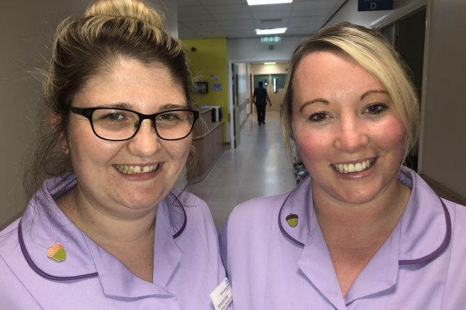 New acorn badge scheme offers extra help to Trust's newly-qualified nurses