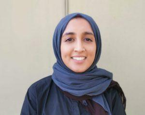 Orthoptist Hafsah Hussain