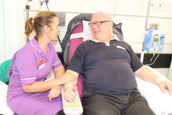 Can you help Bradford Hospitals' Charity fund new comfy chemo chairs?