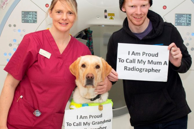 Search on for qualified radiographers to join family-friendly team