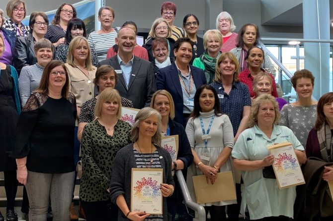 Bradford Teaching Hospitals' staff recognised for decades of service
