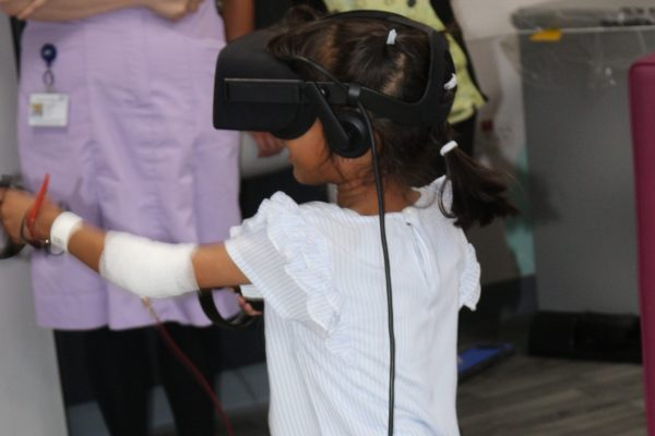 Hospitals' appeal to fundraise for state-of-the-art virtual reality kits