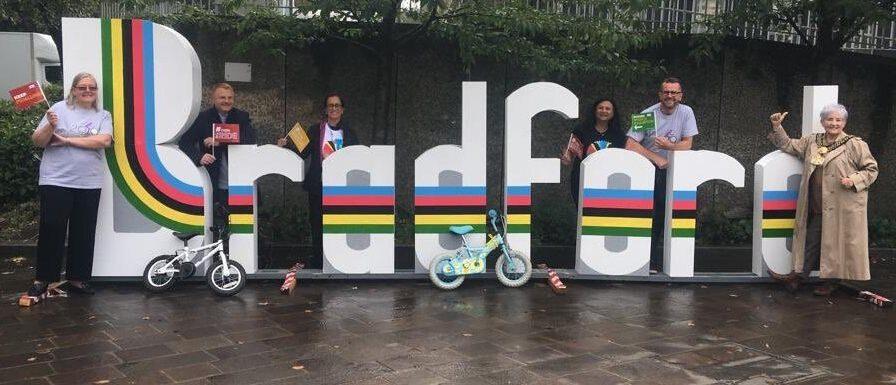 Bradford launches its leg of the Tour de Yorkshire