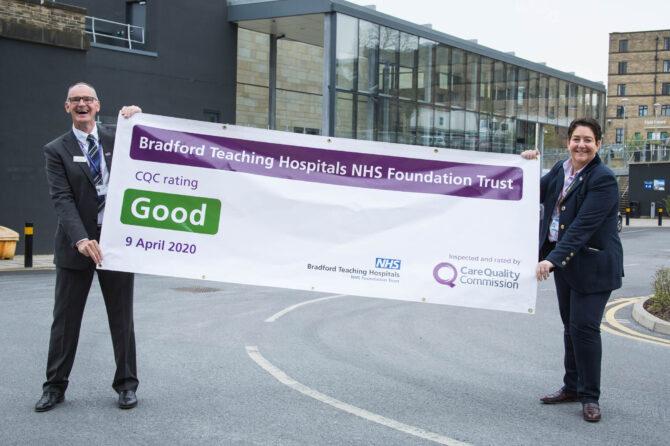Fantastic news as BTHFT receives 'GOOD' rating