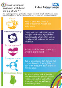 5 ways to support your wellbeing during Covid-19
