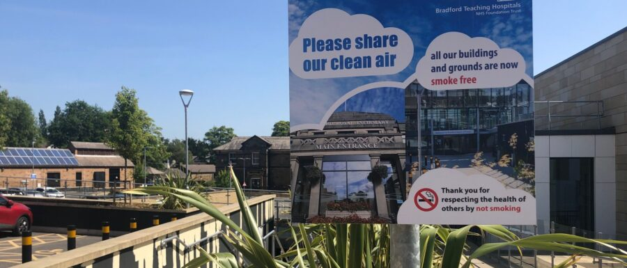 All our buildings and grounds are now smoke free