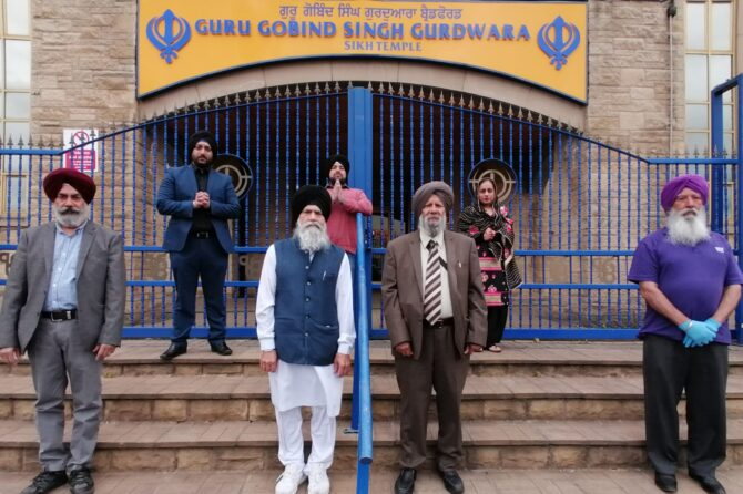 Sikh community's generous donation to help hospital heroes fight Covid-19