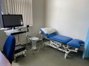 hysteroscopy clinic set up