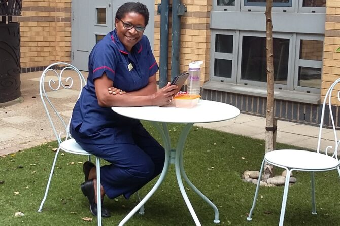 Bradford Hospitals' Charity funds wellbeing spaces for frontline staff
