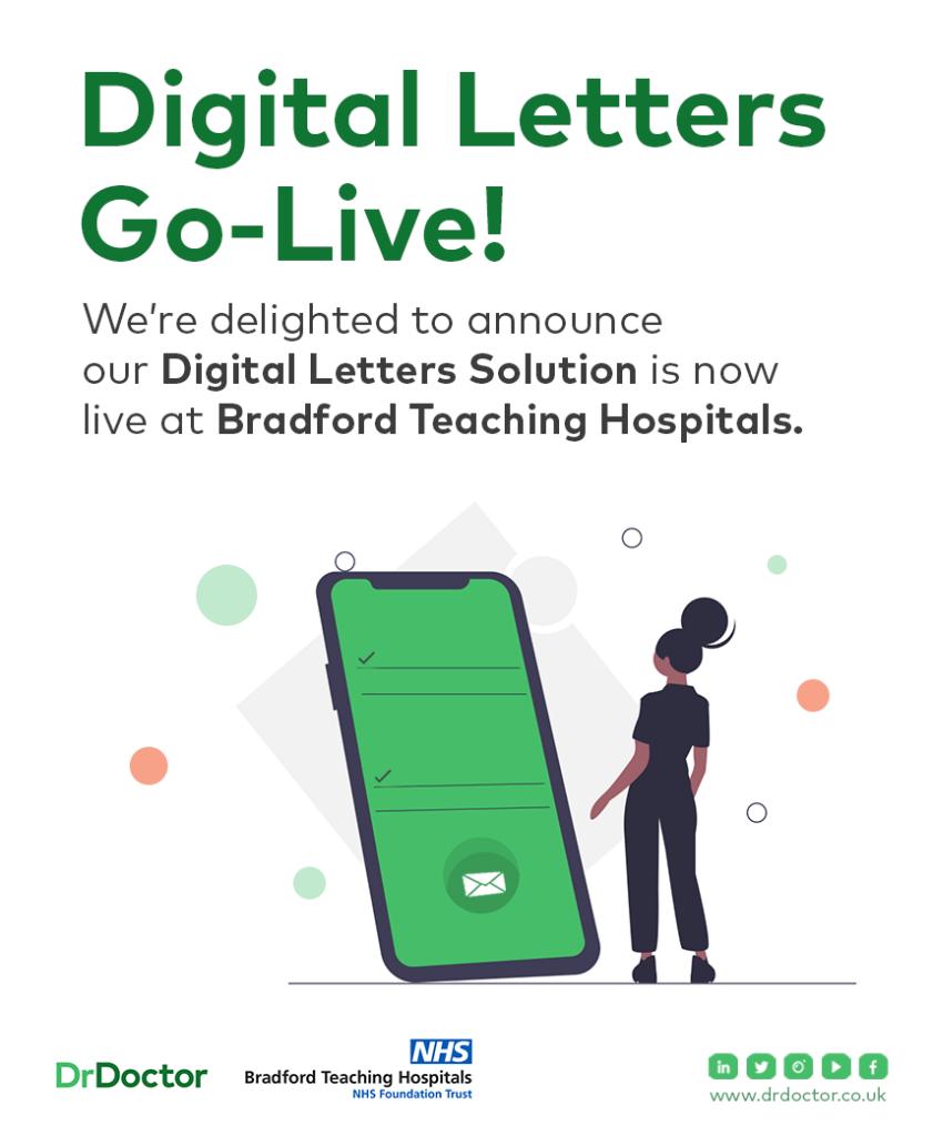 Digital letters go live poster