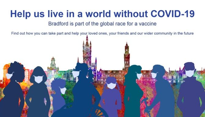 Take part in vital research and help us live in a world without COVID-19