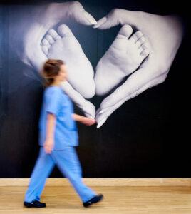 Poster in BRI's Birth Centre