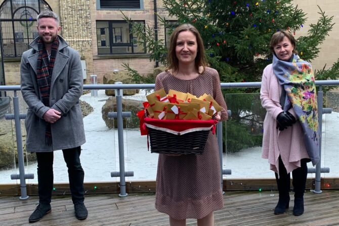 Consultants organise Christmas treat for 350 elderly care staff