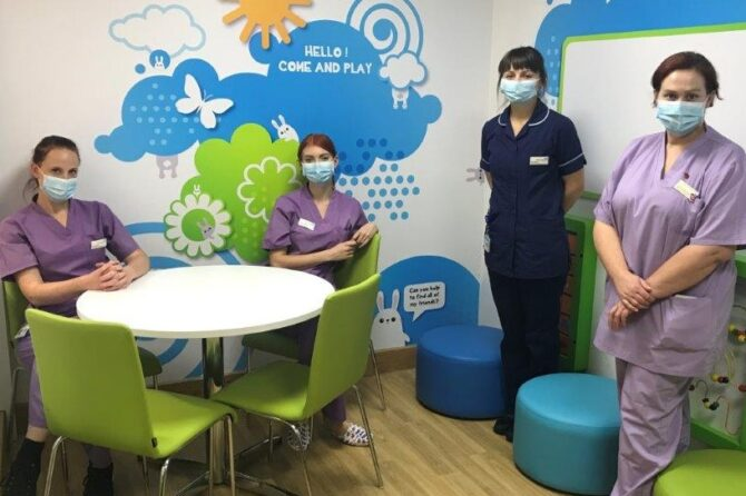 Charity refurbishes family room as part of BIG Neonatal Appeal