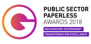 public sector paperless award