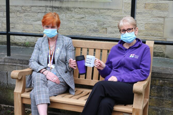 NHS staff can enjoy the outdoors in comfort thanks to generous donations