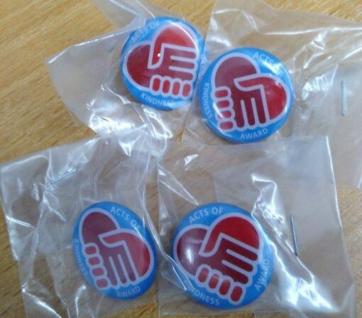 Embedding Kindness staff badges