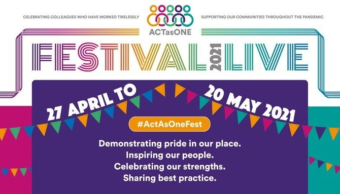 Act as One Festival celebrates Bradford's health and care partnership