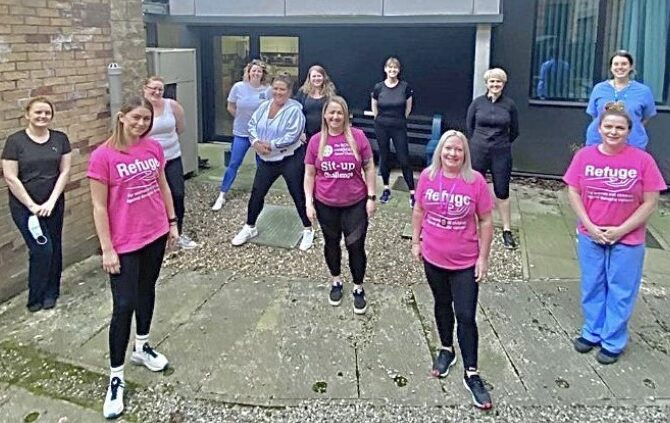 ICU staff turn to sport to promote fitness and wellbeing during pandemic